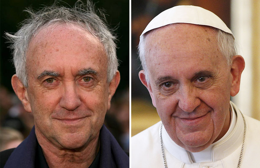 Já viu alguma vez o Alto Pardal e o Papa no mesmo local? Nós também não! Isto é porque provavelmente sejam a mesma pessoa.