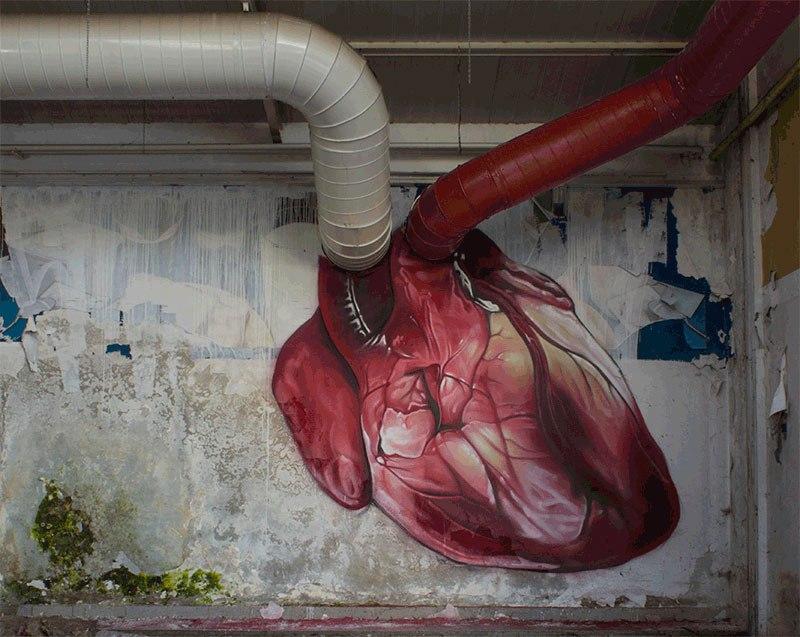Arte urbana de Lonac.