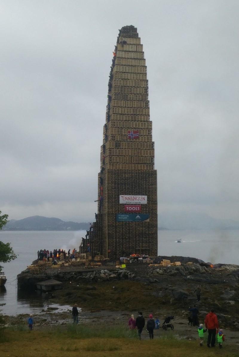 A maior fogueira do mundo.