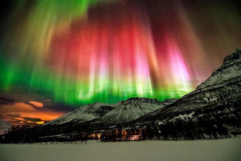 Luzes do Norte.