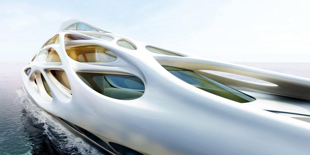 O super-iate moderno e dinâmico de Zaha Hadid 04