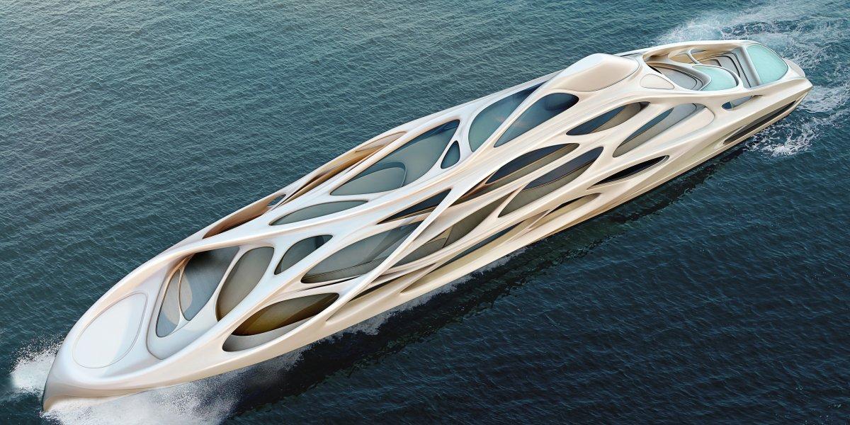 O super-iate moderno e dinâmico de Zaha Hadid 06