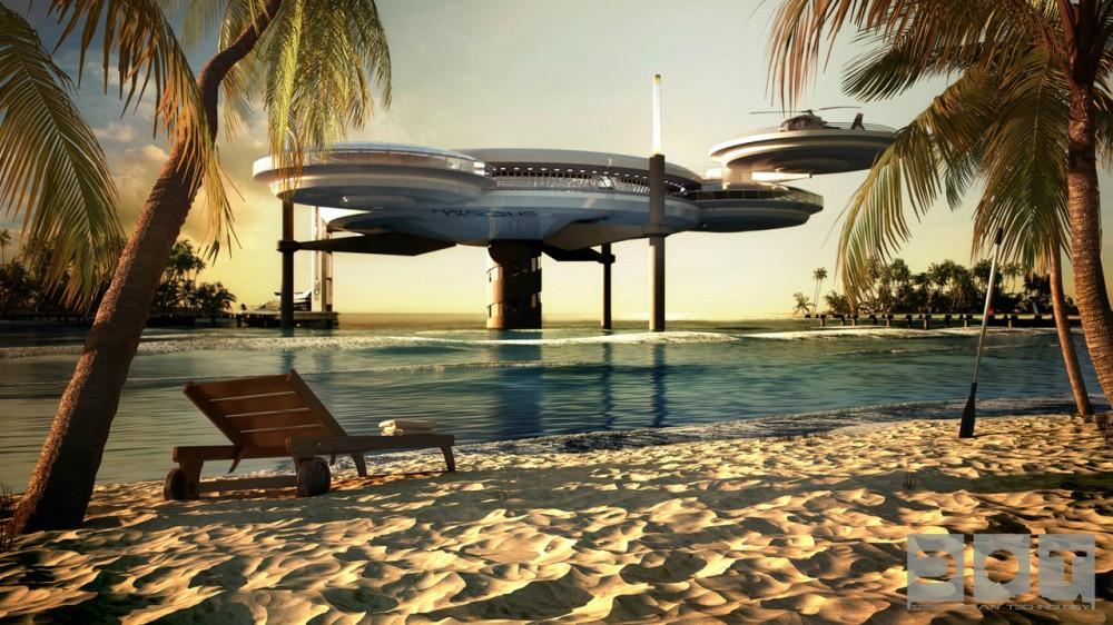 Hotel futurista submarino de Dubai 01