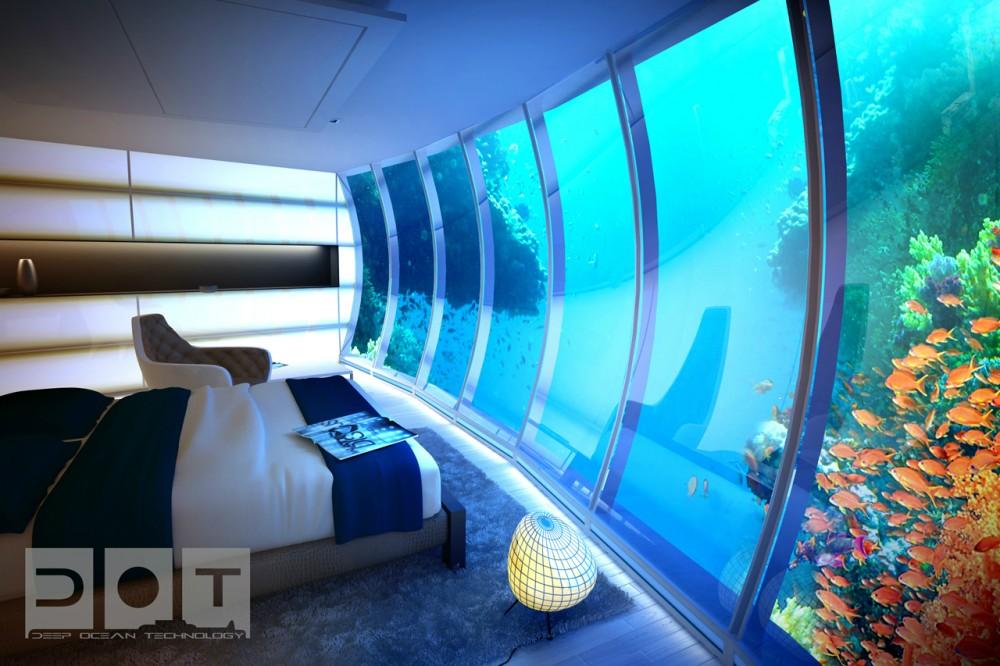 Hotel futurista submarino de Dubai 02