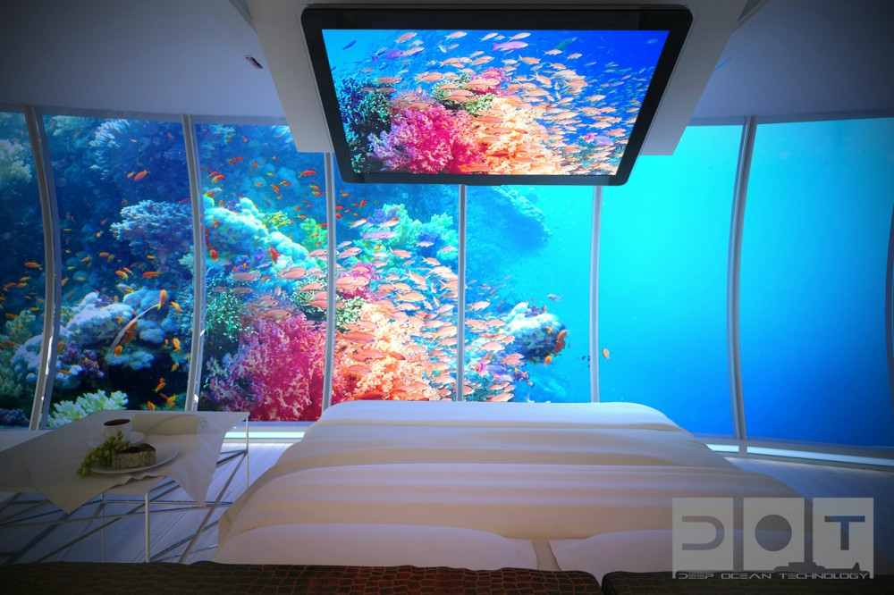 Hotel futurista submarino de Dubai 03