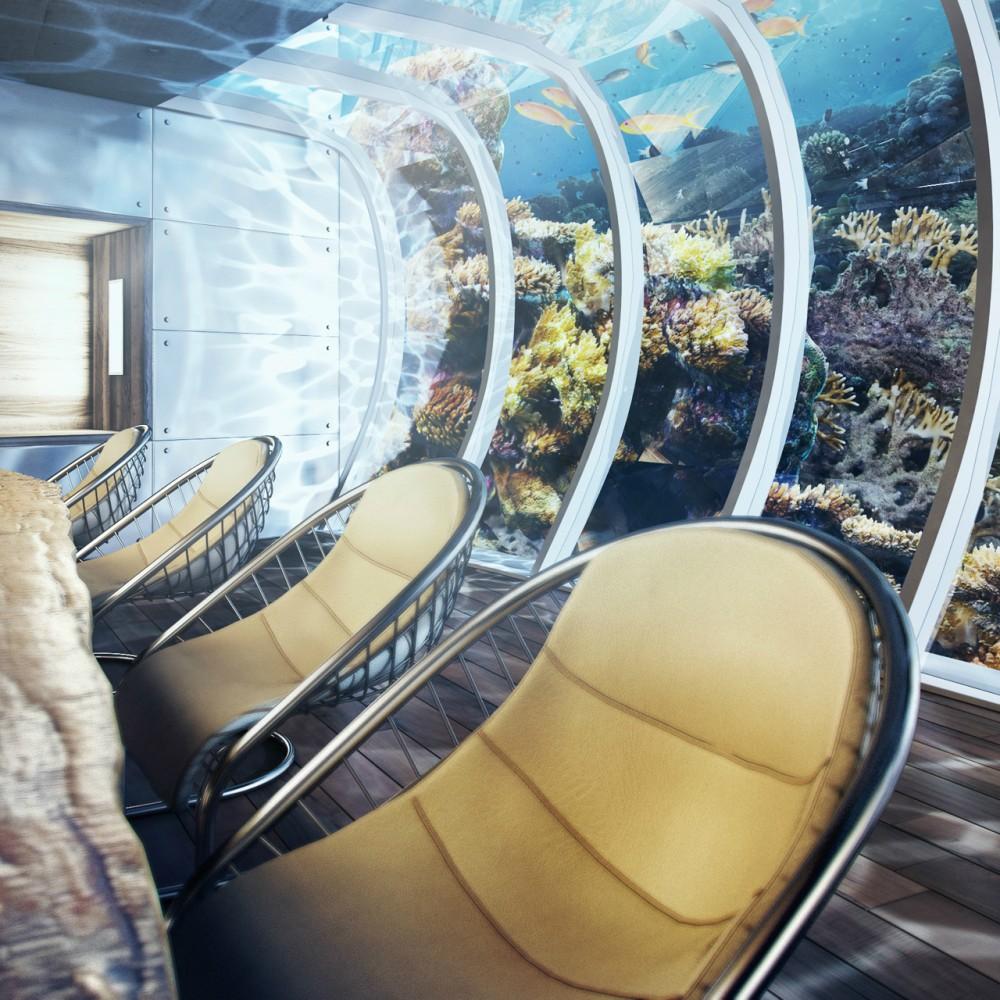 Hotel futurista submarino de Dubai 05