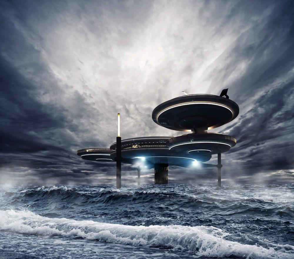 Hotel futurista submarino de Dubai 06