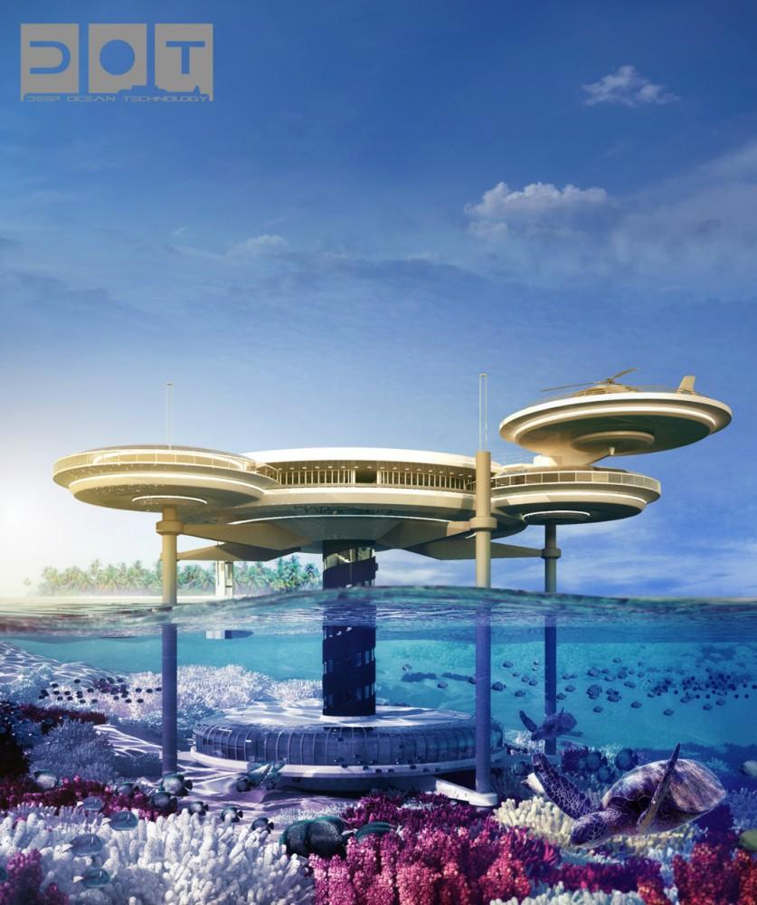 Hotel futurista submarino de Dubai 07