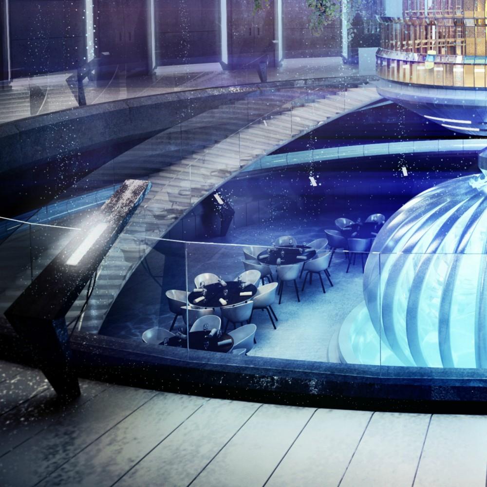 Hotel futurista submarino de Dubai 09