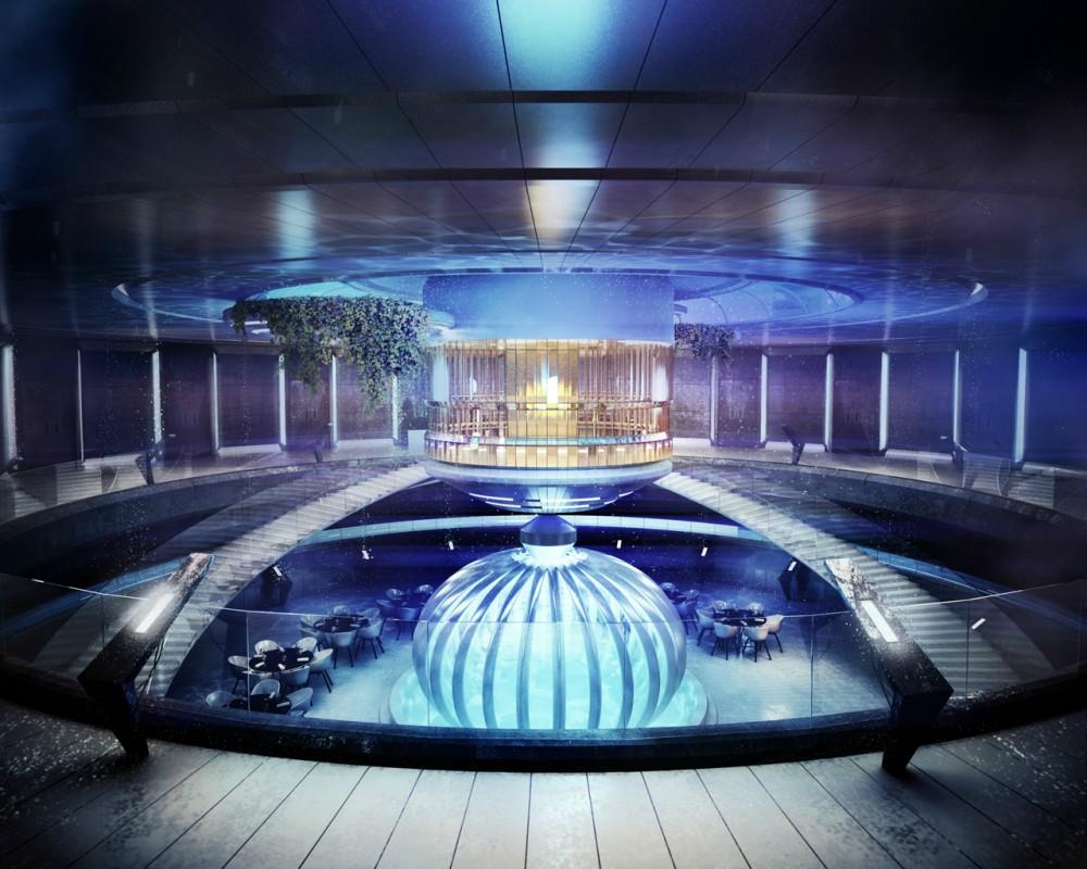 Hotel futurista submarino de Dubai 10