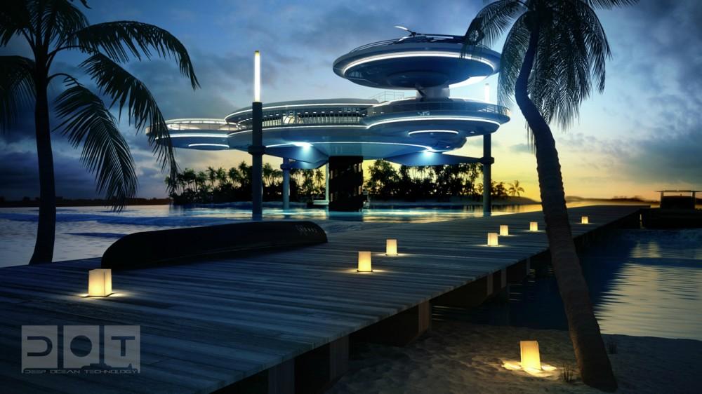 Hotel futurista submarino de Dubai 11