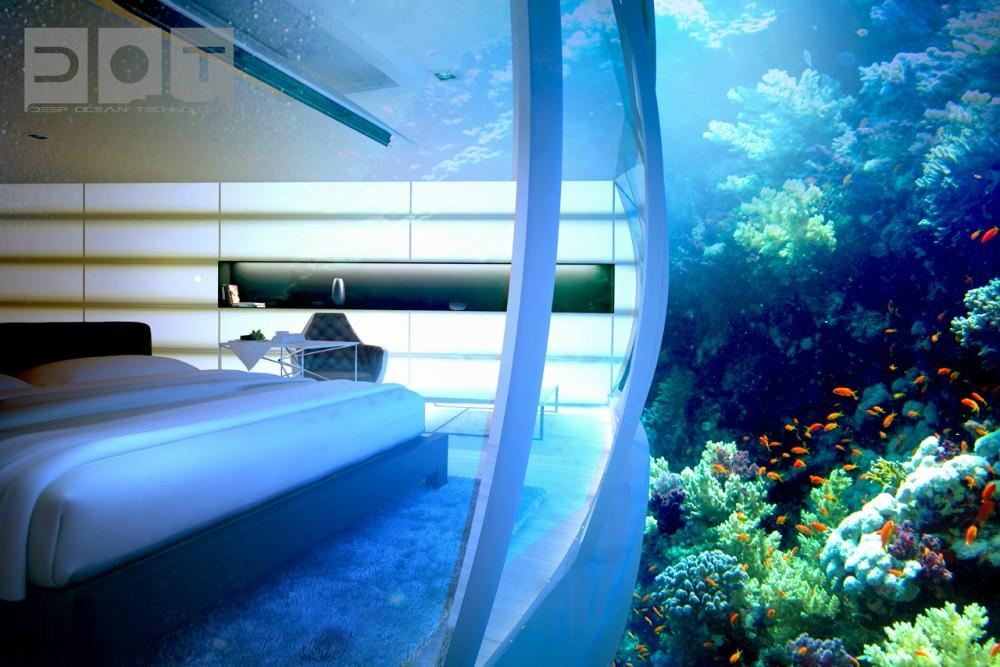 Hotel futurista submarino de Dubai 12