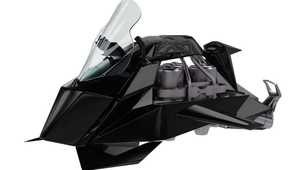 Esta moto voadora a jato alcança os 240 km/h e pode ser sua por apenas 1,5 milhões de reais