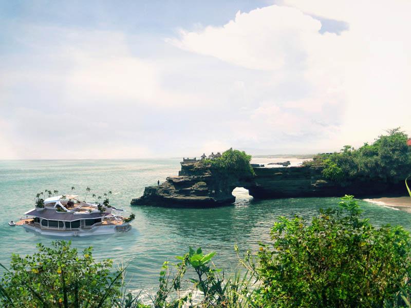 Orsos: uma ilha móvel flutuante 01