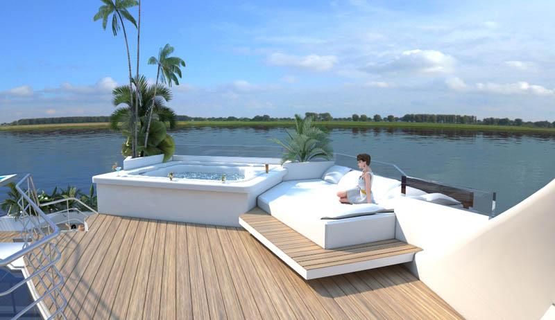 Orsos: uma ilha móvel flutuante 10