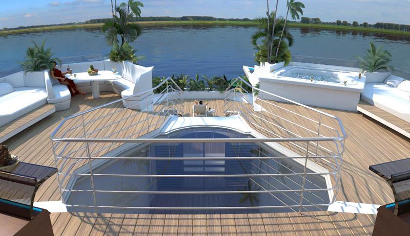 Orsos: uma ilha móvel flutuante 11