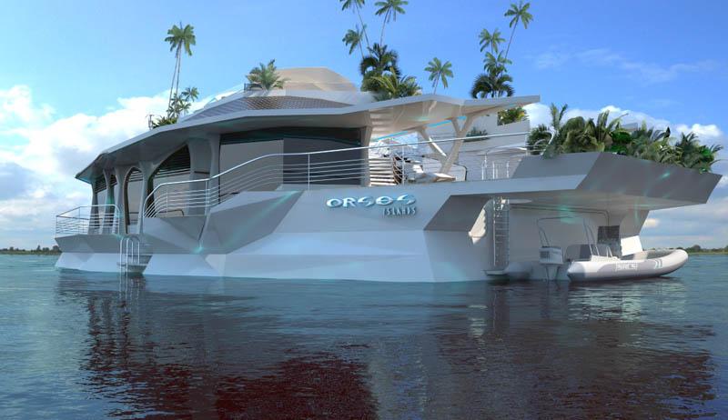 Orsos: uma ilha móvel flutuante 12