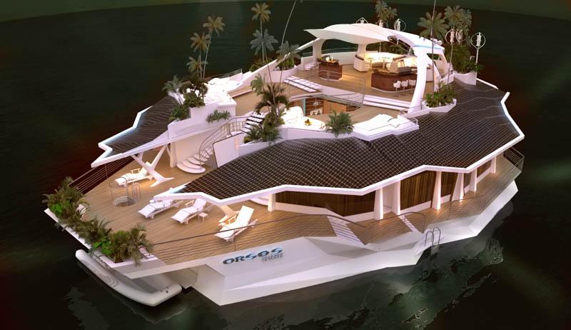 Orsos: uma ilha móvel flutuante 15