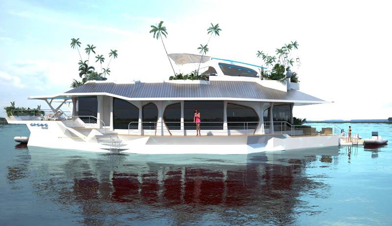 Orsos: uma ilha móvel flutuante 18