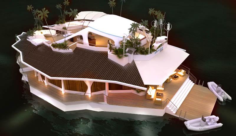 Orsos: uma ilha móvel flutuante 20