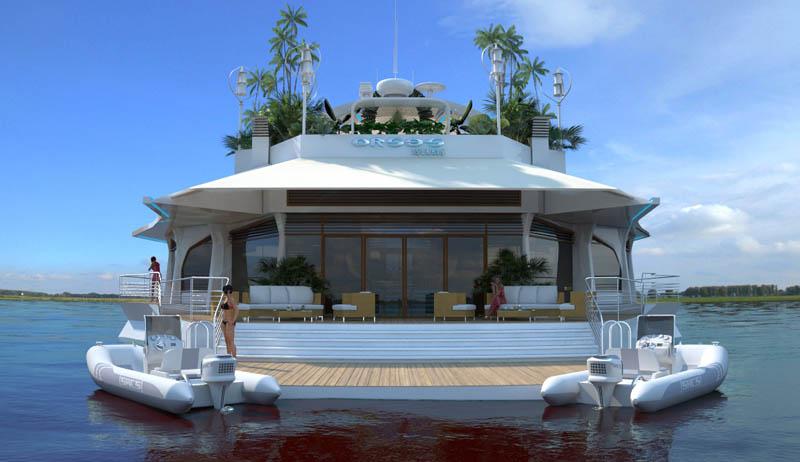 Orsos: uma ilha móvel flutuante 24
