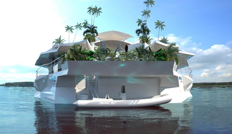 Orsos: uma ilha móvel flutuante 26
