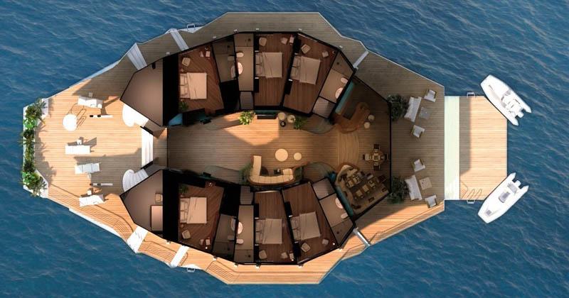 Orsos: uma ilha móvel flutuante 29