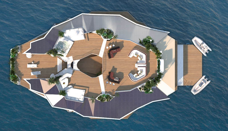 Orsos: uma ilha móvel flutuante 30