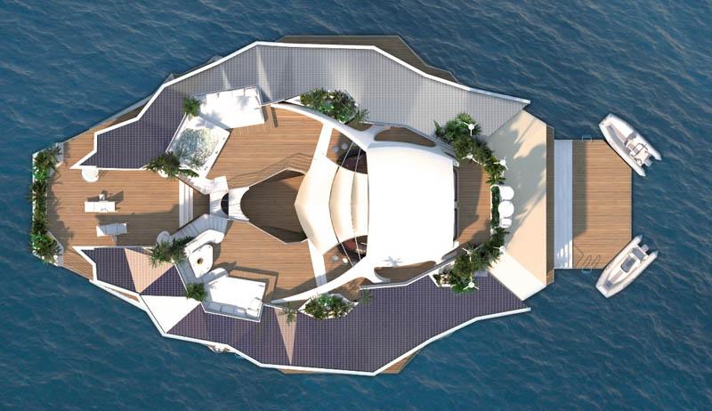 Orsos: uma ilha móvel flutuante 31