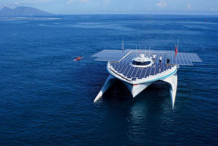 Maior barco do mundo movido a energia solar 01