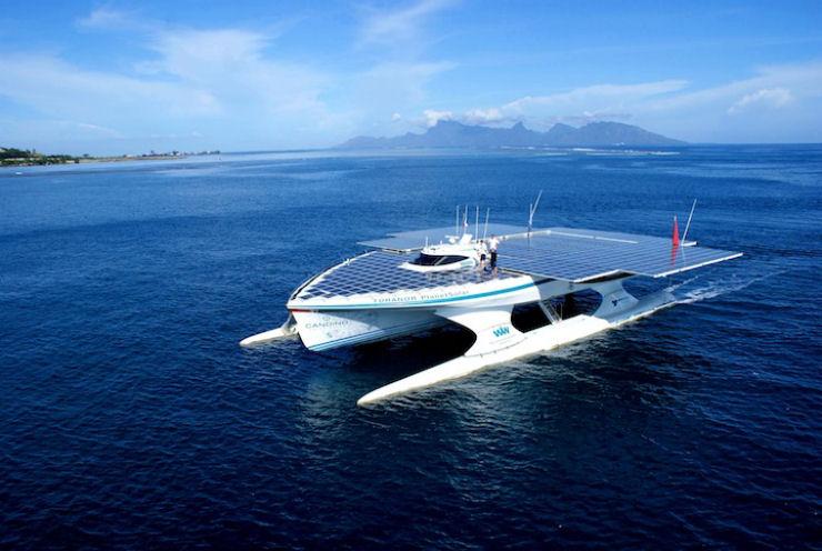 Maior barco do mundo movido a energia solar 07