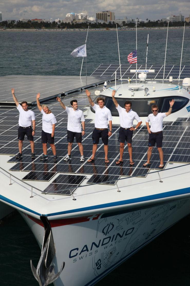Maior barco do mundo movido a energia solar 08