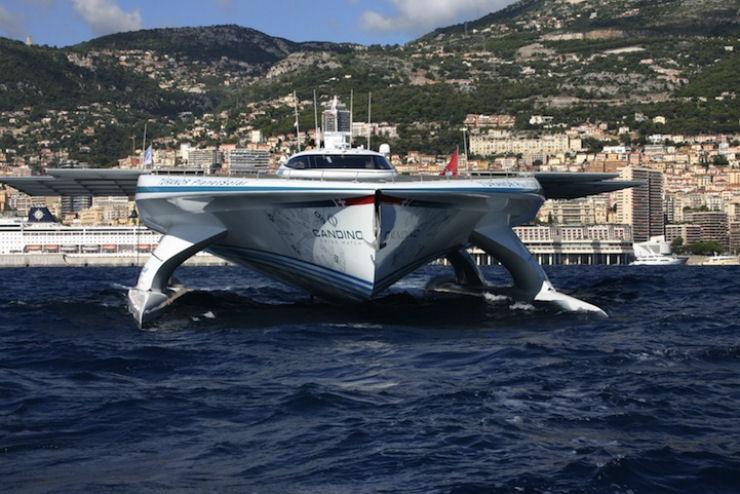 Maior barco do mundo movido a energia solar 09