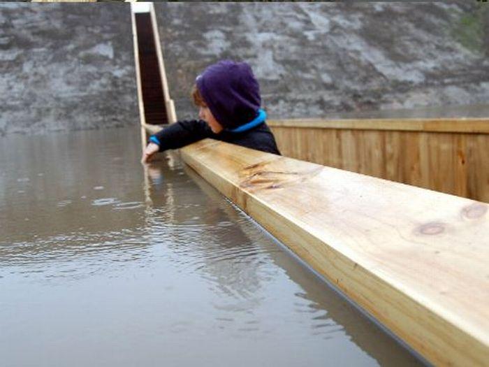 A surpreendente ponte Moisés que divide as águas 04