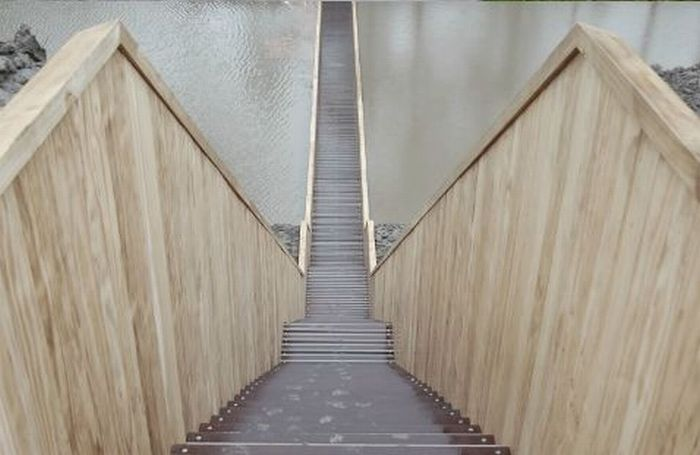 A surpreendente ponte Moisés que divide as águas 07