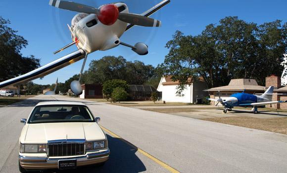 Spruce Creek: Onde todo mundo possui um avião