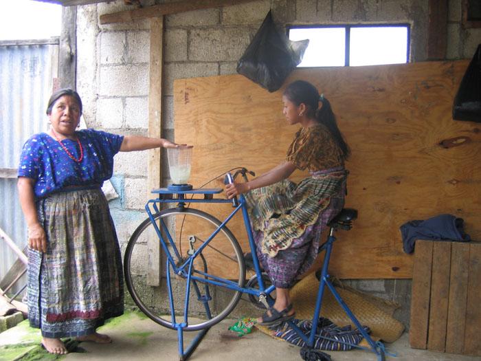 Bicimáquinas: as surpreendentemente máquinas de baixa tecnologia da Guatemala