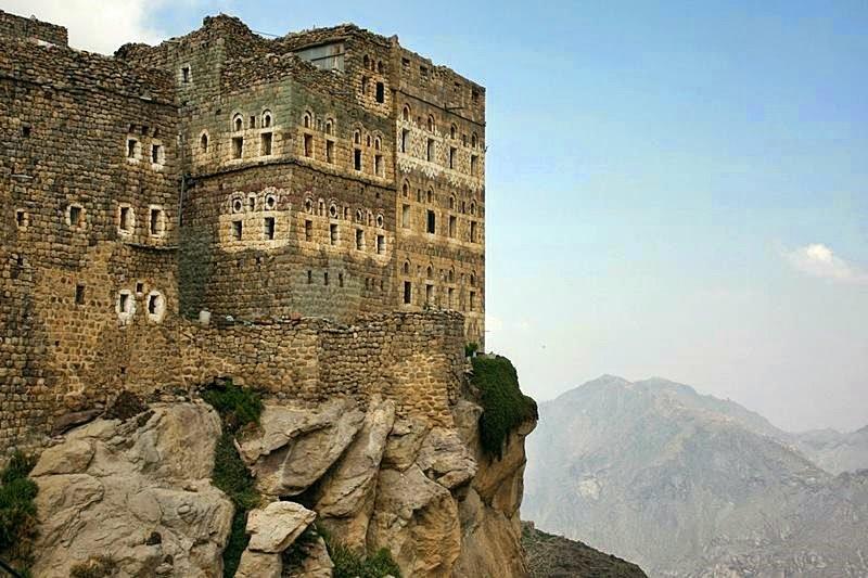 Al Hajjarah, a cidade da Idade Média com edifícios de vários andares