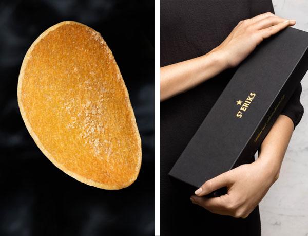 Batata chips mais cara do mundo custa 175 reais e caixa tem cinco fatias