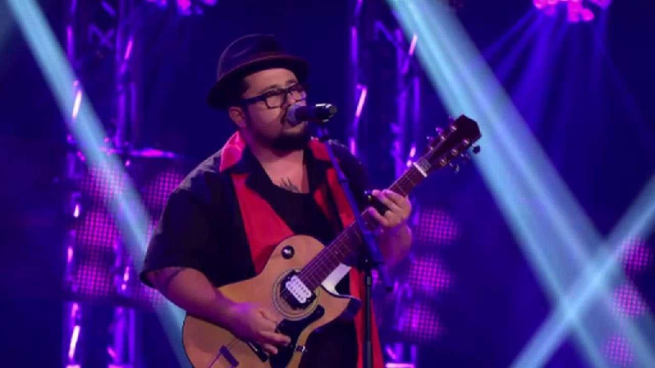 Blueseiro suíço participa de audições às cegas e acaba dando um show no palco