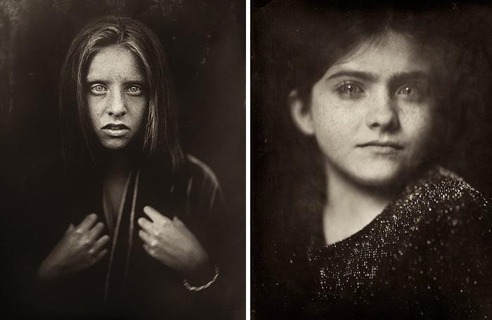 Fotógrafa usou uma técnica do século XIX para retratar crianças e o resultado é assombroso