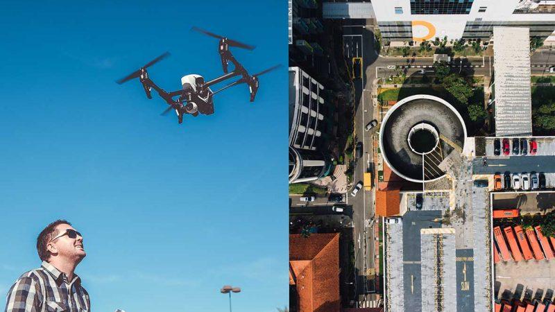 Dicas para tirar fotografias criativas com um drone