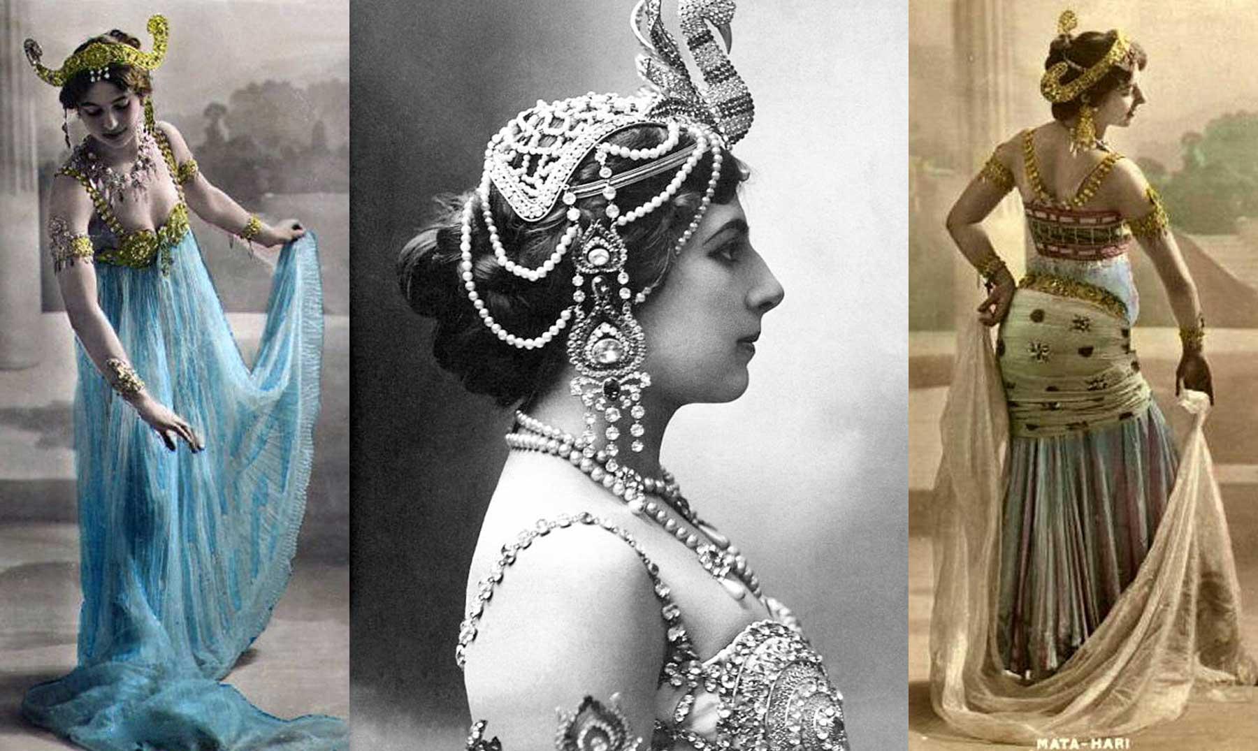 A história dramática de Mata Hari, dançarina exótica e bela espiã da Primeira Guerra Mundial
