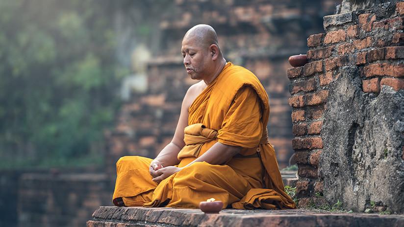 Monge budista «sorri» dois meses após sua morte<br />