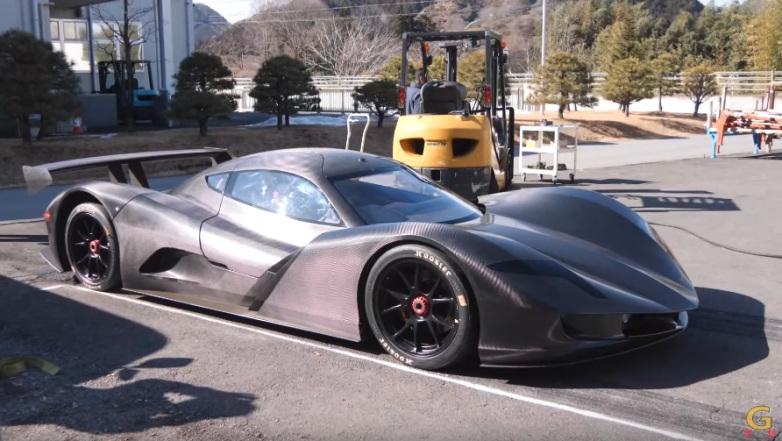 Melhor que Tesla: o carro elétrico japonês Aspark Owl consegue acelerar de 0 a 100 em menos de 2 segundos