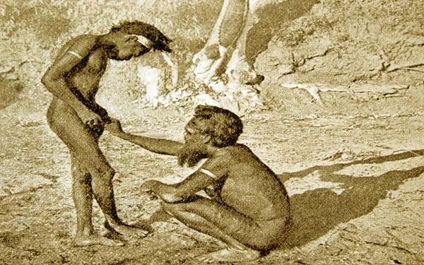 A modificação íntima mais extrema é realizada por aborígenes do sul da Melanésia