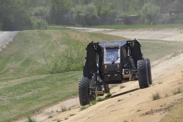 Um sistema de suspensão extrema para viajar comodamente por todo tipo de terreno