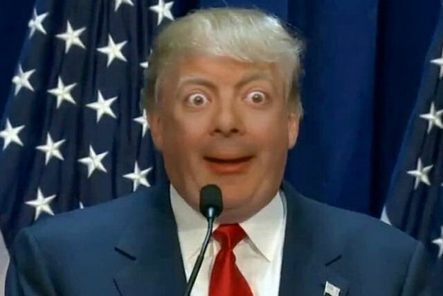 O mais recente deepfake estranho combina Donald Trump e Mr. Bean