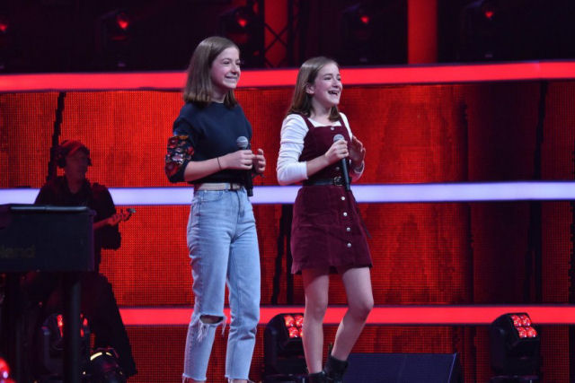 Irmãs arrasam com «Creep» no The Voice Kids da Alemanha