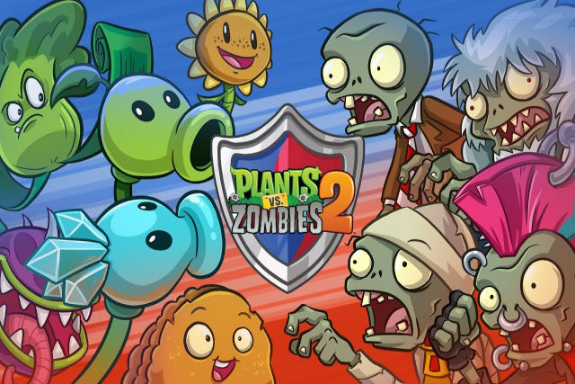 Plants vs Zombies, um game viciante